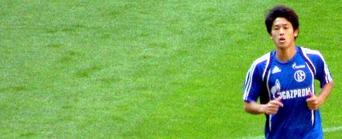 Atsuto Uchida, Spieler des FC Schalke 04