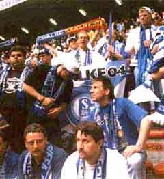 UEFA-Cup-Finale in Mailand 1997